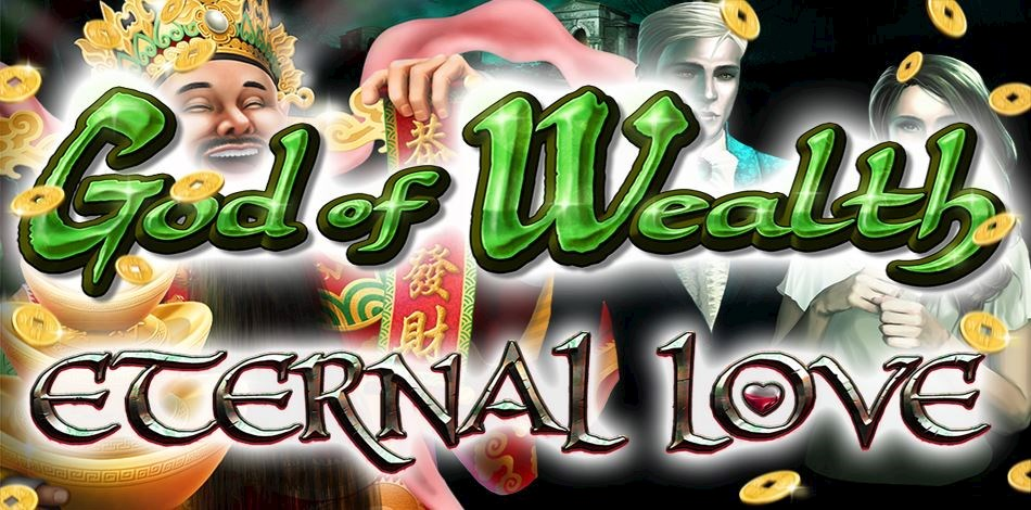 Artwork for God of Wealth online slot game