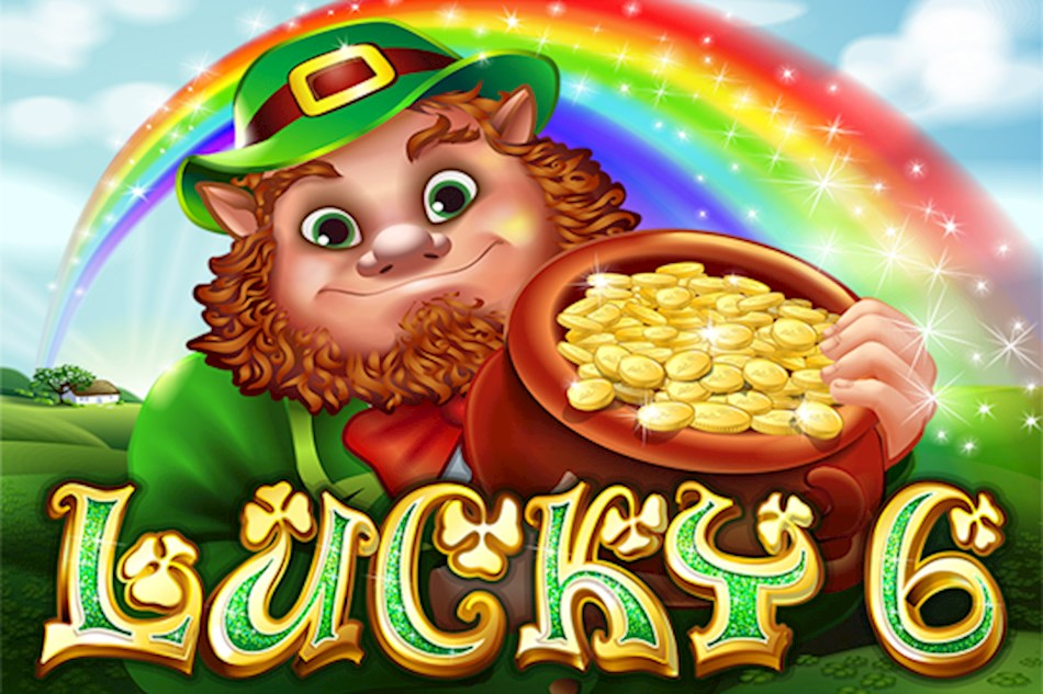 Artwork for Lucky 6 online slot machine game