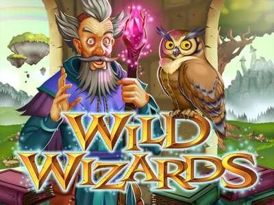 Logo of Wild Wizards Online Slot Machine Game